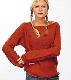 Sweater in Rico Essentials Soft Merino Aran - 108