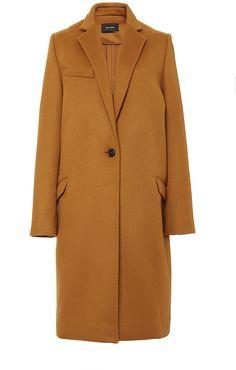 Isabel Marant Virgin Wool and Cashmere Carlan Coat