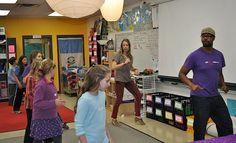 Jae Haile Phillips dance residency at Friends School of Minnesota