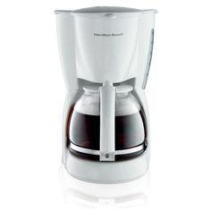 Hamilton Beach - 12-Cup Coffeemaker - White, 49315