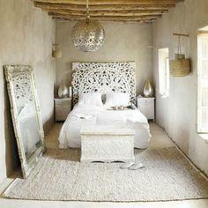 Slaapkamer in Marokkaanse sfeer