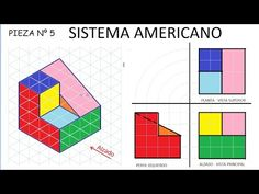 Isometric Grid, Isometric Drawing, 3d Sketch, Sketches, Orthographic Drawing, Interesting Drawings, Fabric Postcards, Drawing Exercises, Math Art