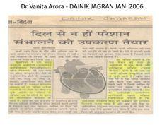 Dr Vanita Arora - DAINIK JAGRAN NEWS