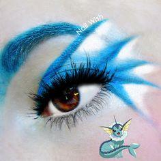 Nail Wish: Poke Makeup Challenge #5: Vaporeon