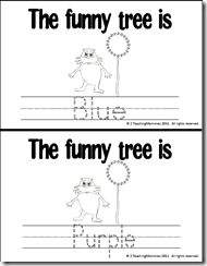 Dr. Seuss Color and Counting Books! Lorax Truffula Trees. Dr Seuss bday celebration activity