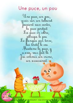 Paroles_Une puce, un pou
