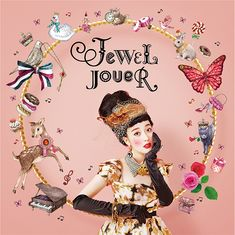 『JEWEL JOUER(ジュエルジュエラ)』 Ad Design, Flyer Design, Graphic Design, Claudia S, Model Sketch, Photocollage, Japanese Design, Girls Makeup, Fashion Shoot