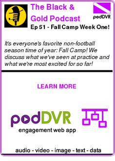 #UNCAT #PODCAST  The Black & Gold Podcast    Ep 51 - Fall Camp Week One!    LISTEN...  http://podDVR.COM/?c=e8770338-14e6-b75a-eaf9-f4a068d26e98