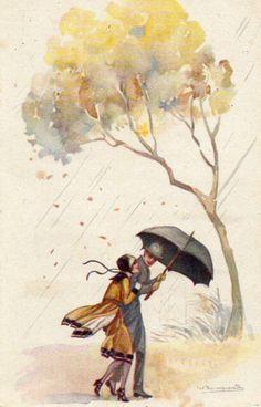 umbrellas.quenalbertini: Rainy day