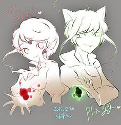 Tikki and Plagg