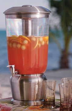 Outdoor Beverage Dispenser.