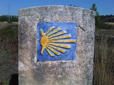A shell represents the camino and can be seen throughout the pilgrimage Camino Trail, The Camino, St James Way, Saint James, Sweet Memories, Pilgrimage, Places To Go, Adventure, Summer Dream
