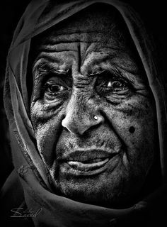 Faces of Old People in Black and White Photography | Fab old folk ...