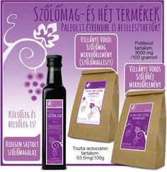 Szőlőmag mikroőrlemény és szőlőmagolaj