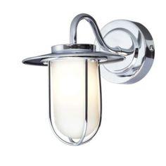 Colours Aiyana Chrome Effect 1 Lamp Halogen Single Wall Light: Image 1