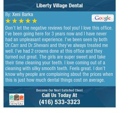 Don't let the negative reviews fool you! I love this office. I've been going here for...