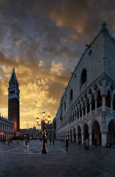 Piazza San Marco,  ⊱Venice, Italy