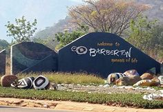 Welcome to Barberton South Africa, African, Spaces, Nature, Movies, Movie Posters, Naturaleza, Films, Film Poster