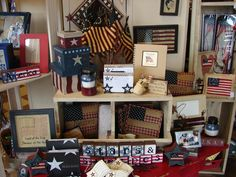 Image of Americana Home Decor 4th of July and Americana