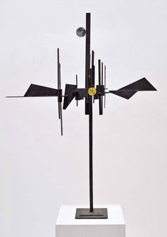 Paul Kasper Signed, Welded Steel Sculpture, 1950 | From a unique collection of antique and modern sculptures at https://www.1stdibs.com/furniture/decorative-objects/sculptures/