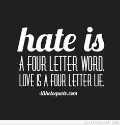 ~Four Letter Lie~