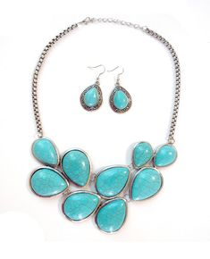 Vintage Tibet Turquoise Jewelry Sets, starting at only $5 in our Jewelry auction.