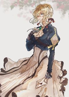 Violet Evergreen, Violet Evergarden Anime, Anime Scenery, Kawaii Anime Girl, Pretty Art, Drawing, Photos, Pictures, Aesthetic Anime