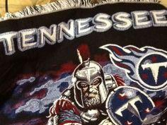 Tennessee Titans tapestry throw blanket NFL Football production sample
