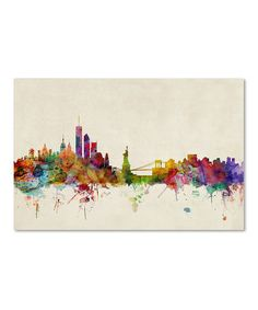 Look at this #zulilyfind! New York, New York Gallery-Wrapped Canvas by Michael Tompsett #zulilyfinds