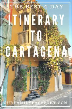 The Best 4 Day Travel Guide to Cartagena CARTAGENA, COLOMBIA & Cartagena was just named one of the new and upcoming destinations in the world! This UNESCO World Heritage Site has unlimited things to do. Visit Colombia, Colombia Travel, Backpacking South America, South America Travel, Columbia South America, Central America, South America Destinations, Travel Destinations, Machu Picchu