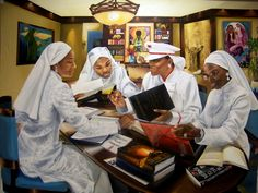 Image detail for -Brother Jesse Blog: One-on-one with Nation of Islam painter Sister ...
