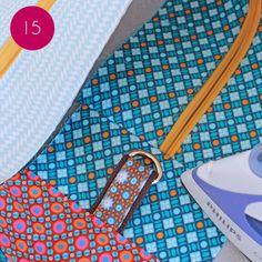 DIY The Laetibricole shopping bag Leather Bag Pattern, Haberdashery, Baby Sewing, Blog, Peta, Bag Accessories, Shopping Bag, Diy, Vanity