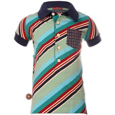 4funkyflavours Jungen Poloshirt, Down On The Corner