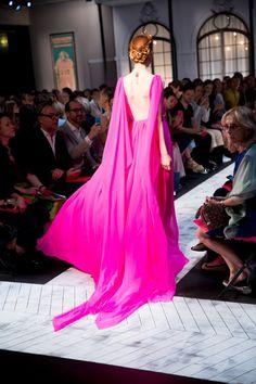 Schiaparelli Fall 2015 Couture brought the drama