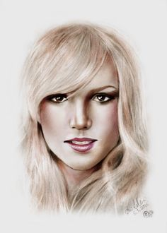 Portrait of Britney Spears by Sladi on Stars Portraits, the biggest online gallery for celebrity portraits. Celebrity Portraits, Online Gallery, Britney Spears, Stars, Celebrities, Fictional Characters, Brithney Spears, Celebs, Sterne
