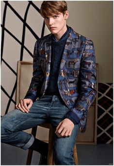 Gucci Pre Fall 2015 Menswear Collection: Casual Chic + Equestrian Styles Charm