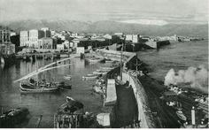 Heraklion, Crete. Heraklion Crete, Old Photos, Vintage Photos, Crete Island, Old Maps, Civil Engineering, Time Travel, New York Skyline, Greece
