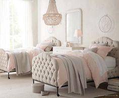 11 dormitorios románticos en tonos pastel para chicas