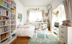 ホワイト家具でプチ・ロマンティック