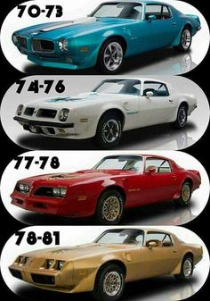 Pontiac Firebirds