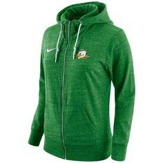 0cb7a3604899 Nike Women s Oregon Ducks Tailgate Gym Vintage Full-Zip Hoodie ( 65) ❤ liked