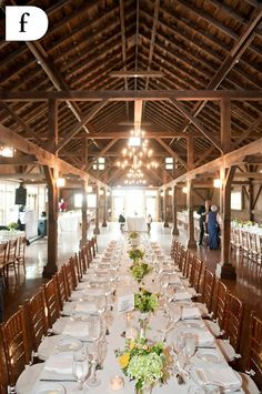 Quonquont Farm Barn Wedding Blue Heron Catering Be Our Guest Party Als Yellow