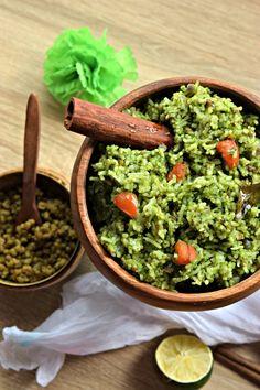 Lahsuni Palak Rice i
