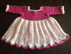 Crochet Dress 12-18 ... by Jeans Needles | Crocheting Pattern - Looking for your next project? You're going to love Crochet Dress 12-18 Mth PATTERN by designer Jeans Needles. - via @Craftsy