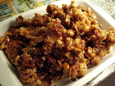 Maangchi's Sweet and crispy chicken (dakgangjeong)