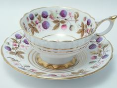 Royal Stafford Vintage Fine Bone China Tea Cup by TheVintageFind1