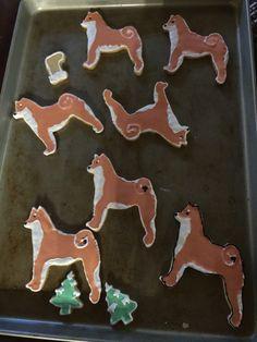 Shiba Inu cookies