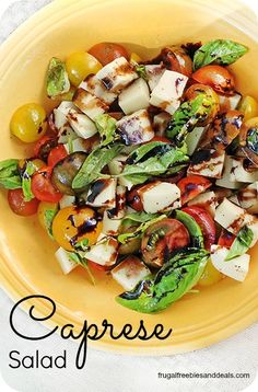 Caprese Salad- easy summer salad