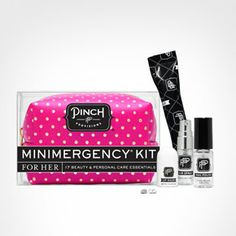This pocket-sized pouch packs 17 mini fixes for any on-the-go beauty disaster. #Sephora #TravelEssential