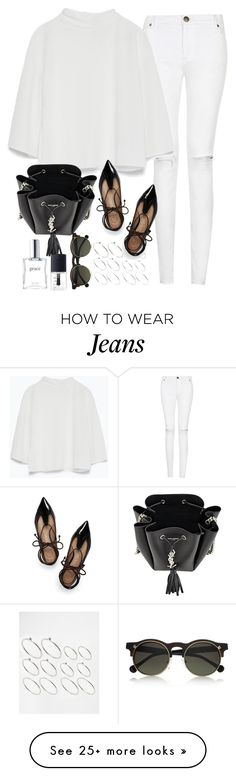"""Untitled#3734"" by fashionnfacts on Polyvore featuring moda, ASOS, Zara, NARS Cosmetics, Tory Burch, philosophy, Yves Saint Laurent i Carven"